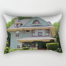 Old West End Blue 5 Rectangular Pillow