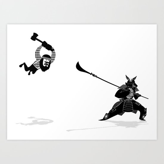 PDX vs TYO Art Print
