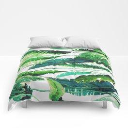 tropical compilation horiz. Comforters