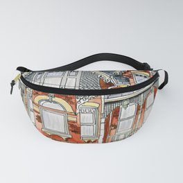 Cabbagetown house Toronto Fanny Pack