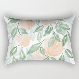Peach Tree Rectangular Pillow