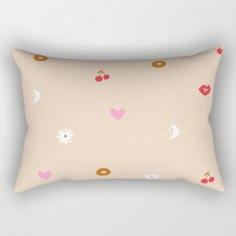 Woman Pattern Rectangular Pillow