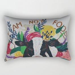 I am not food Rectangular Pillow