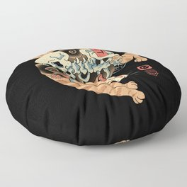 Catana of Death Floor Pillow