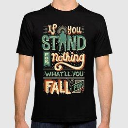 Make a stand T-shirt