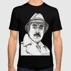 Inspector Clouseau Mens Fitted Tee LARGE Black
