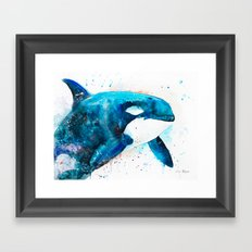 Orca Framed Art Print
