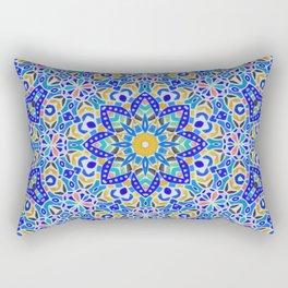 Arabesque kaleidoscopic Mosaic G512 Rectangular Pillow