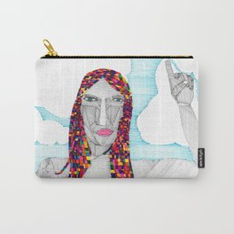 Many Colors Carry-All Pouch