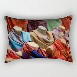 Pashmina Shawls Rectangular Pillow