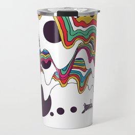 Psychedelic Planet Travel Mug