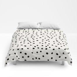Preppy Spots Digita Drawing Comforters