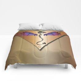 Copper Dragon Comforters