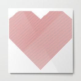 hart /red/ Metal Print