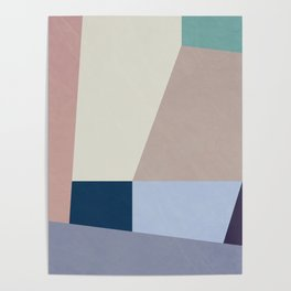 Abstract Geometric Minimal Abstract Design Poster