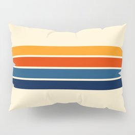 Classic Retro Stripes Pillow Sham