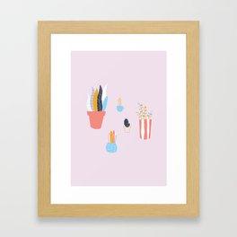 Lil' Plants Framed Art Print