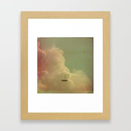 Once Upon a Time a Little Boat Framed Art Print
