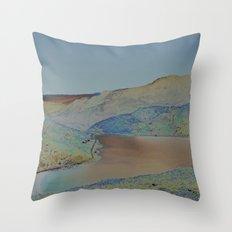 Chromascape 16: Snowdon Throw Pillow