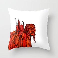 Afro Bono Throw Pillow