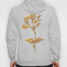 Golden tribal flower Hoody