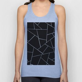 Black White Geometric Glam #2 #geo #decor #art #society6 Unisex Tank Top