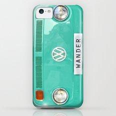 Wander wolkswagen. Summer dreams. Green Slim Case iPhone 5c