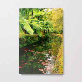 Autumn in the park Metal Print