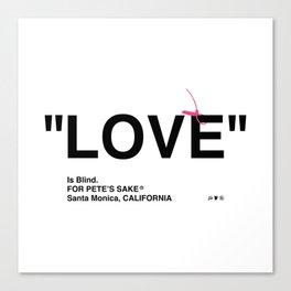 """LOVE"" Canvas Print"