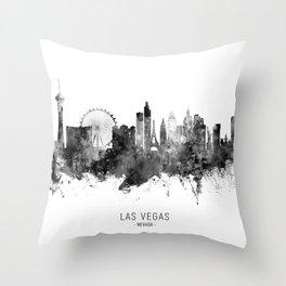 Las Vegas Nevada Skyline Throw Pillow