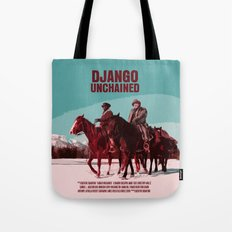 Django Unchained Movie Poster  Tote Bag