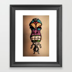 Mr.Tiki Framed Art Print