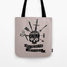 What Doesn't Kill Me - Black Tote Bag
