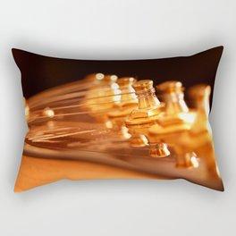 Golden Strings Rectangular Pillow