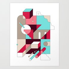 Abstraction I Art Print
