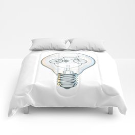 Light Bicycle Bulb Comforters