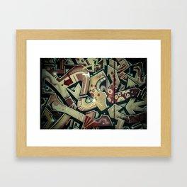 not_change_4 Framed Art Print