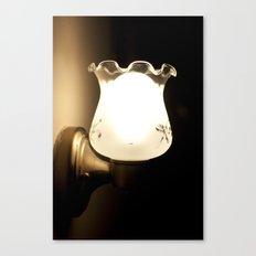 Lamplight Canvas Print