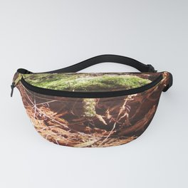 Forest Texture Fanny Pack