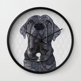 Chief the Mastiff Wall Clock