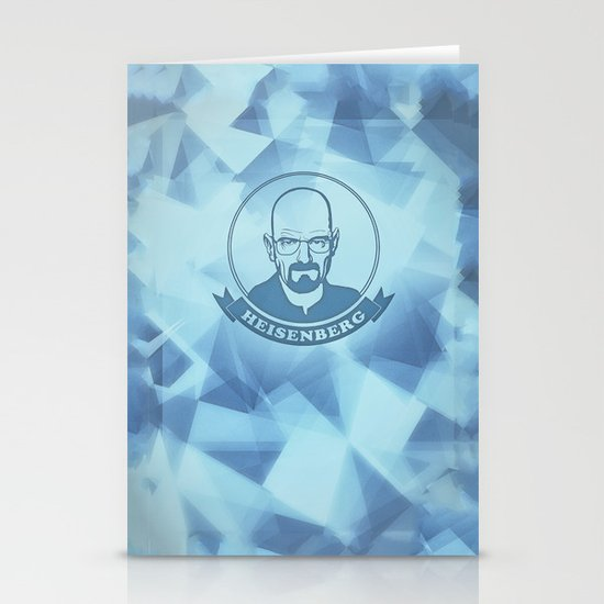 Walter White - Heisenberg - Blue Meth Edition Stationery Cards