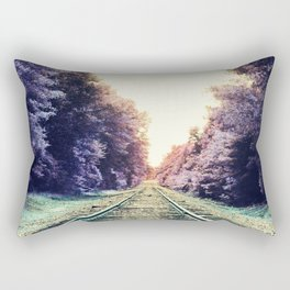 train TRACKS : Fond Dreams Rectangular Pillow