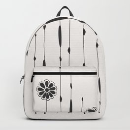 Black Mexican Daisy Backpack