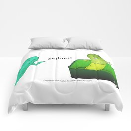 Soaking in Awesome (The Sellout) Comforters