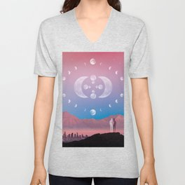 MULTI MOONIVERSE Unisex V-Neck