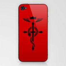 Fullmetal Alchemist Flamel - Black iPhone & iPod Skin