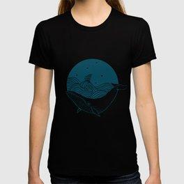 Whale dream T-shirt