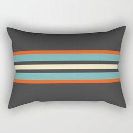 Classic Retro Stripes Amikiri Rectangular Pillow