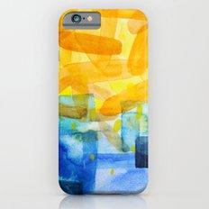 Sunburst Watercolor iPhone 6s Slim Case