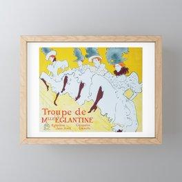 Dance Troupe Framed Mini Art Print